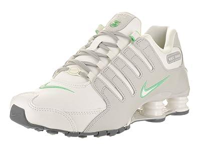 Nike Women's Shox NZ Light Bone/Sail Lt Iron Ore Running Shoe 6 Women US