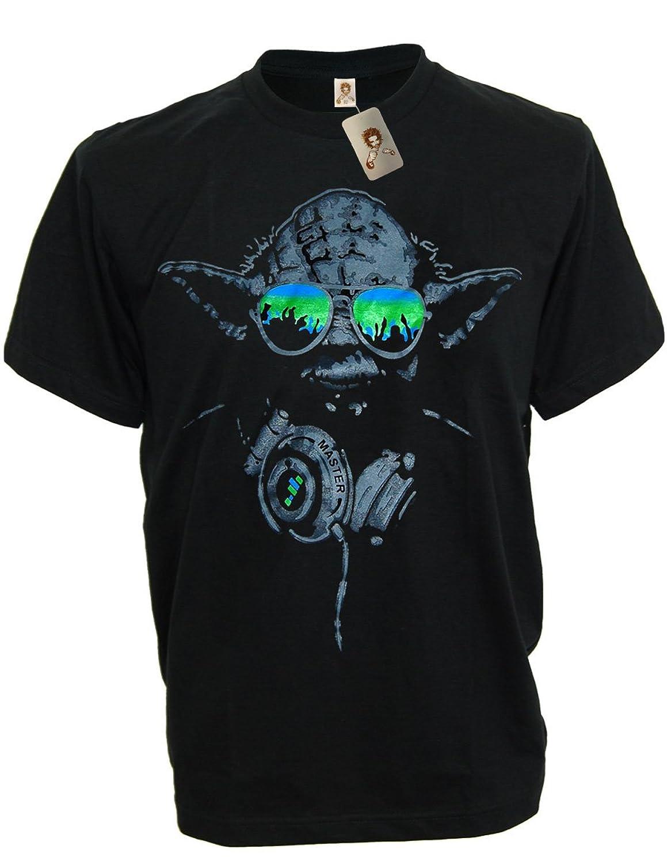 Black sabbath t shirt avengers - Sodatees Dj Yoda Turntables Club Men S T Shirt Headphones Star Wars Music Green Shades