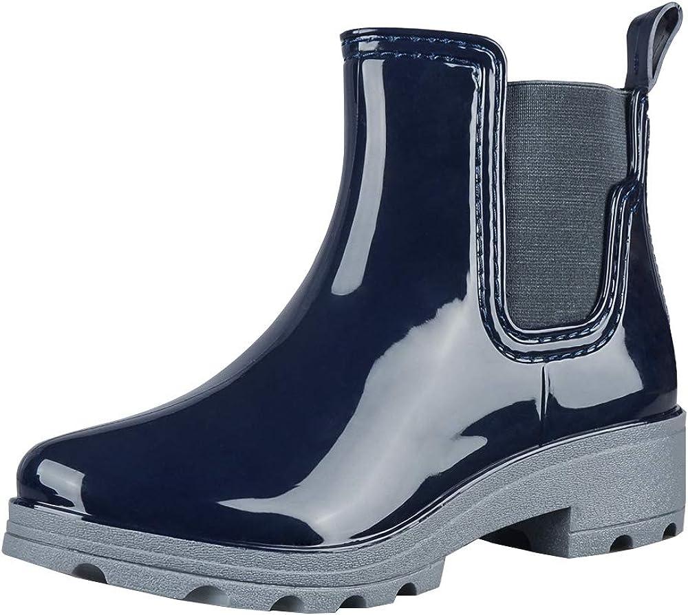 fazoc Rain Boots for Womens Girls