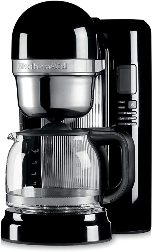 KitchenAid 5KCM1204EOB - Cafetera (Independiente, Máquina de café ...