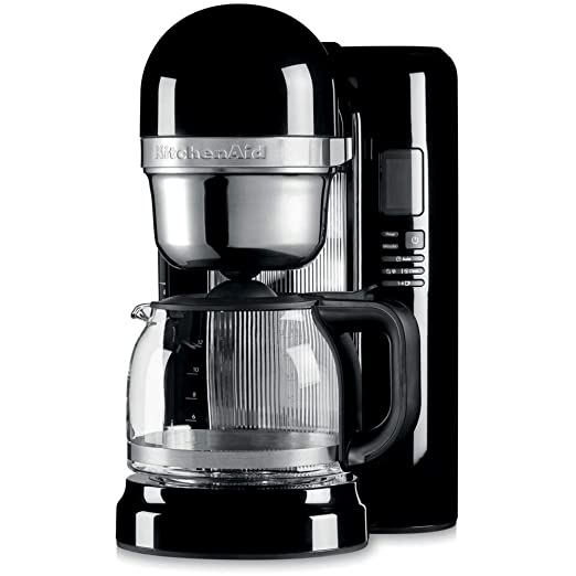 KitchenAid 5KCM1204EOB - Cafetera (Independiente, Máquina de ...