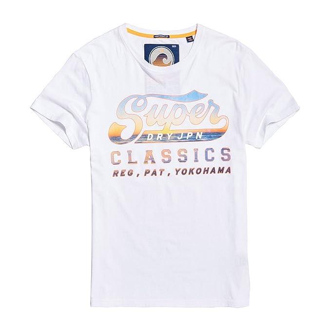 Superdry Classics Lite Weight tee Camiseta para Hombre: Amazon.es ...