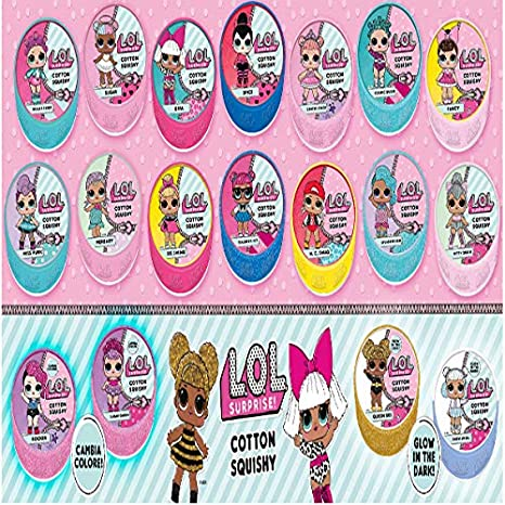 Diramix Lol Surprise Cotton Squishy Colore Colorato 2499 6726