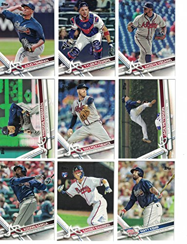 - Atlanta Braves / Complete 2017 Topps Series 1 & 2 Baseball Team Set. Dansby Swanson! FREE 2016 TOPPS BRAVES TEAM SET WITH PURCHASE!
