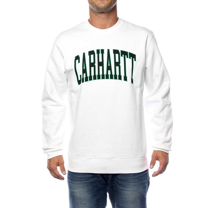 Carhartt Division Sweat - Sudadera para hombre, talla XL, color WHITE: Amazon.es: Ropa y accesorios