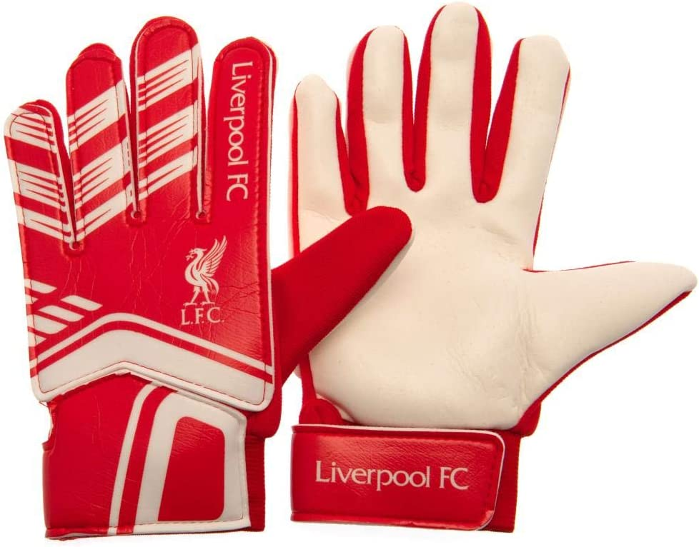 100/% Official Premier League Football Club Goalkeeper Goalie Gloves For Kids Children Teens