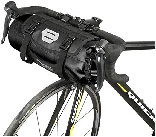 GJZhuan Totalmente Impermeable 7L Bicicleta Bolsa Delantera Cestas ...
