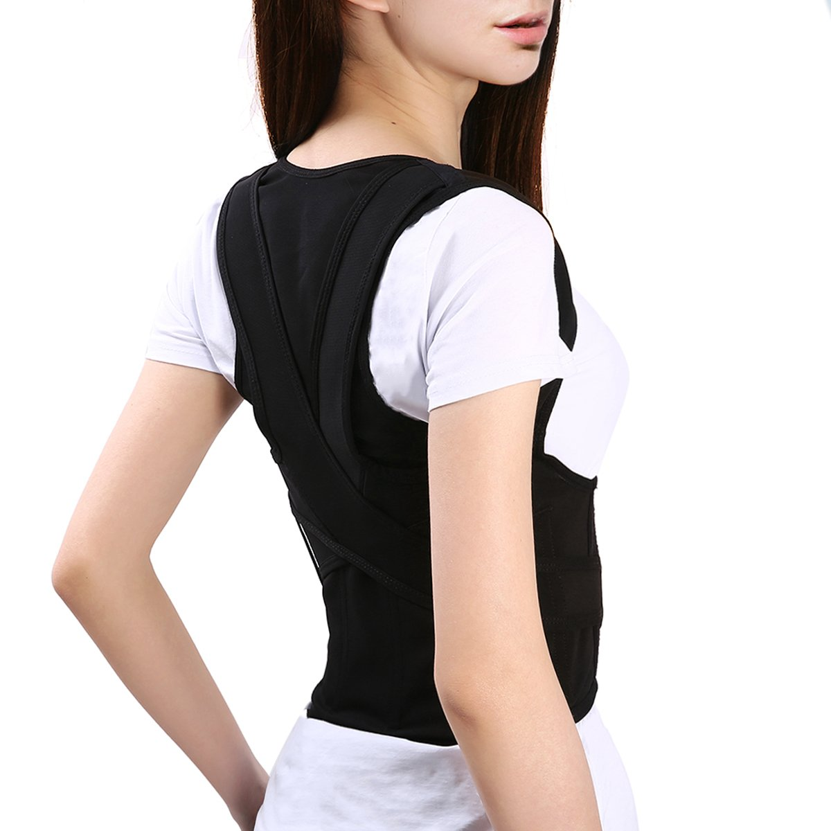 Back Posture Corrector, Slimerence Clavicle Support Brace, Back Shoulder, Neck Pain Relief, Spinal Cord, Periarthritis, Adult Students Children Men and Women Back Kyphosis Correct Belt