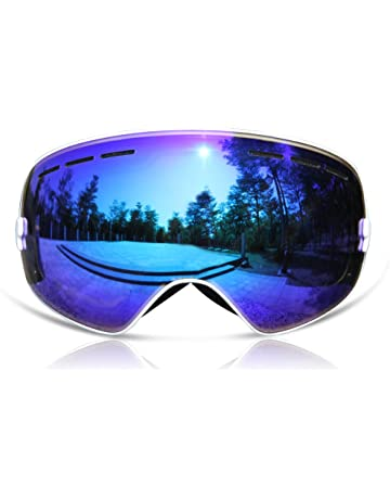 cbb149fcdad4 GANZTON Ski Goggles Skiing Snowboard Windproof Goggles with OTG Over Glasses