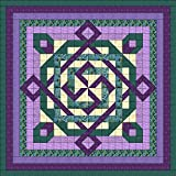 Quilt Kit Celtic Twist/Purple/Teal/QUEEN