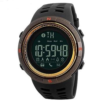 ZUZHEN Mens Watch Relojes de Cuarzo Reloj Militar Moda Buceo Hombres Deporte LED Reloj Digital: Amazon.es: Deportes y aire libre