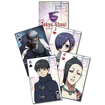 Baraja de cartas Tokyo Ghoul, poker: Amazon.es: Deportes y ...