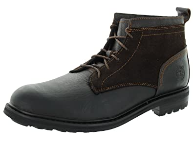Timberland Men's Glazed Ginger with Suede Heritage Flatirons Chukka 8.5  D(M) US