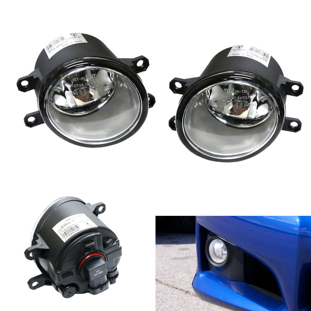 Ijdmtoy A Pair Driver Passenger Sides Fog Light Lamps 2007 Wrx Wiring Harness With H11 Halogen Bulbs For Lexus Is Gs Es Ct Lx Rx Toyota Camry Highlander Corolla Prius