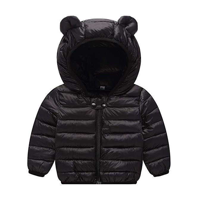 Amazon JIEEN Baby Boys Girls Lightweight Warm Down Cotton Coat for Age 0-3 Years Old $16.99