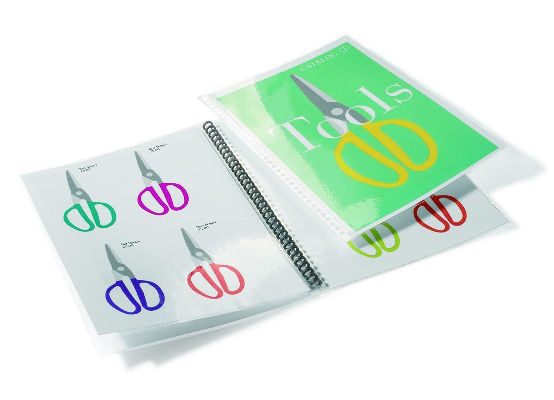 GBC 3747518 Pouch per Plastificazione Documenti A4, 2 x 100 Mic, Confezione da 50, Lucide ACCO Brands 5947518