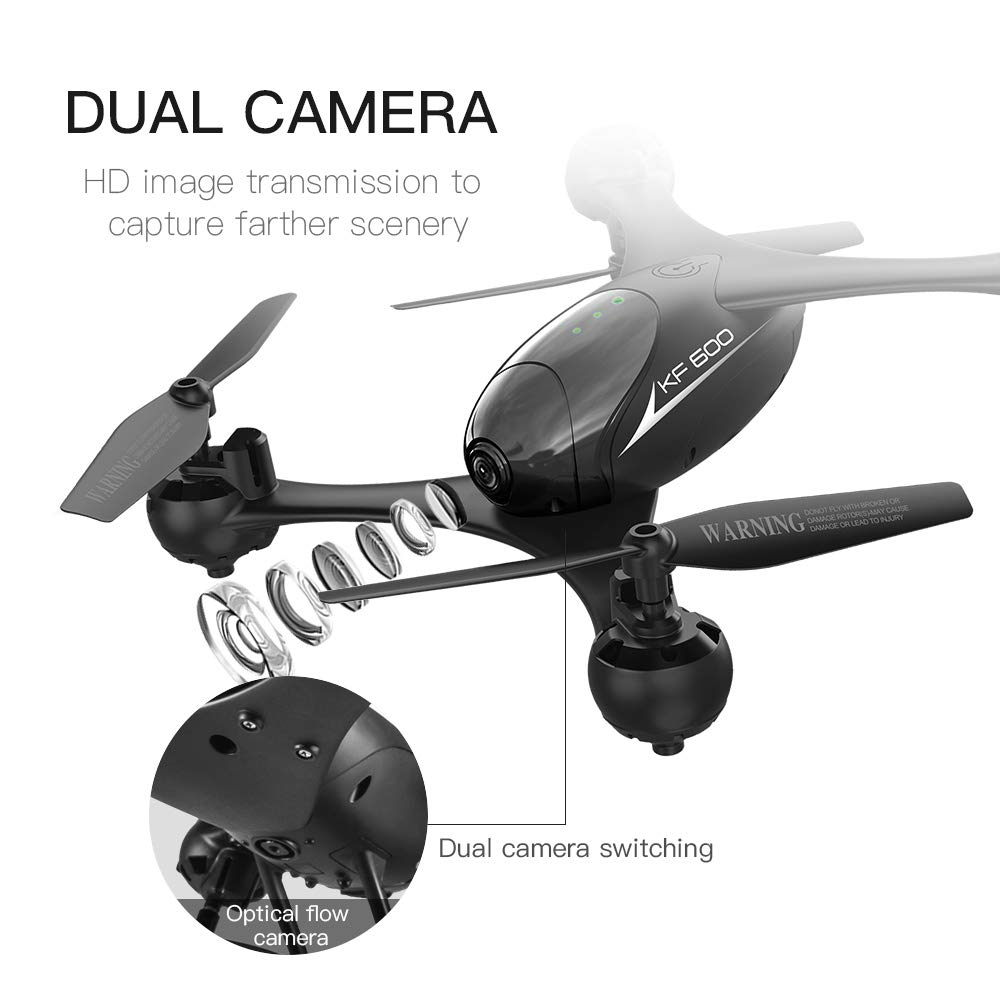 WANGYONGQI 720Pwifi+ optische Luftdrohne, Drohne, Fernbedienung