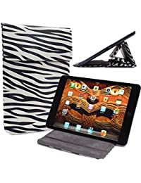Universal Faux leather Stand & Case fits Samsung Galaxy Tab S2 8.0|Zebra