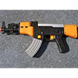 AK 47 Halbautomatik batteriebetriebene Wasserpistole - genialer Spaß !- 390