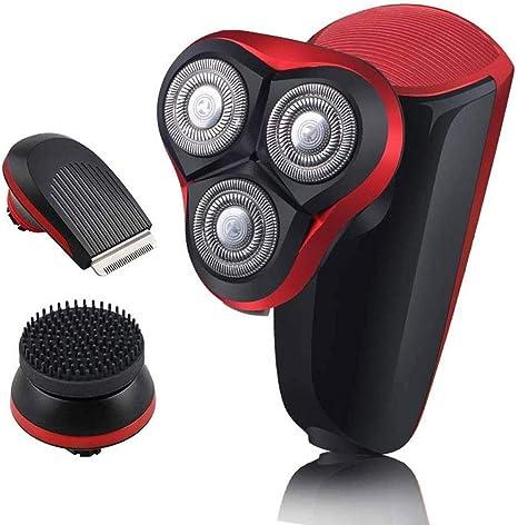 MEETKE Maquinilla de Afeitar eléctrica para Hombres Afeitadora de ...