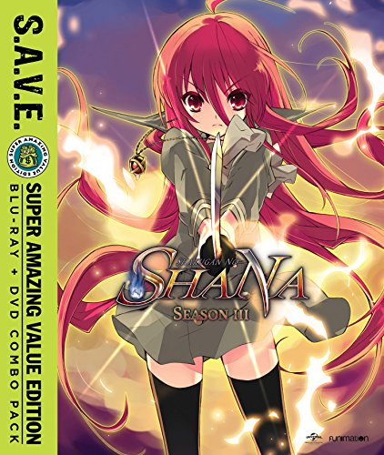 Shakugan No Shana: Season Three S.A.V.E. (Blu-ray/DVD Combo)