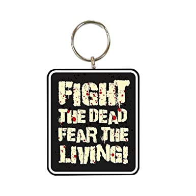 The Walking Dead - Llavero Fight the Dead (Talla Única/Negro ...