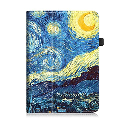 Fintie iPad mini 1/2/3 Case - Folio Slim Fit Stand Case with Smart Cover Auto Sleep / Wake Feature for Apple iPad mini 1 / iPad mini 2 / iPad mini 3, Starry Night Photo #7