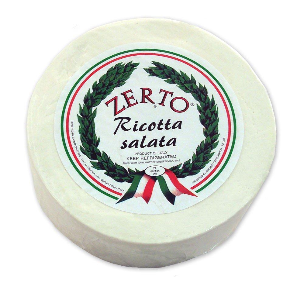 Ricotta Salata Cheese - Sheep milk - Approx. 7 Lb-Wheel