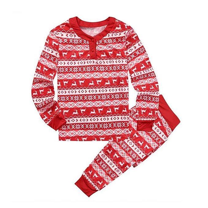 Familia Navidad Conjunto De Pijama Papá Mom Baby Navidad ...