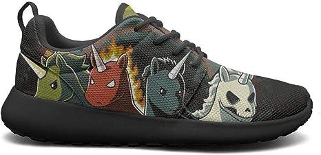 DDIIEEDD Cuatro Unicornios de Apocalypse Zapatos para Mujer ...