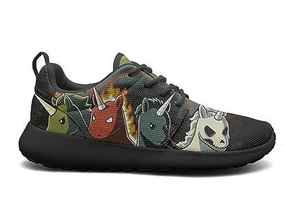 DDIIEEDD Cuatro Unicornios de Apocalypse Zapatos para Mujer Mejores Zapatillas para Correr Tow Classic