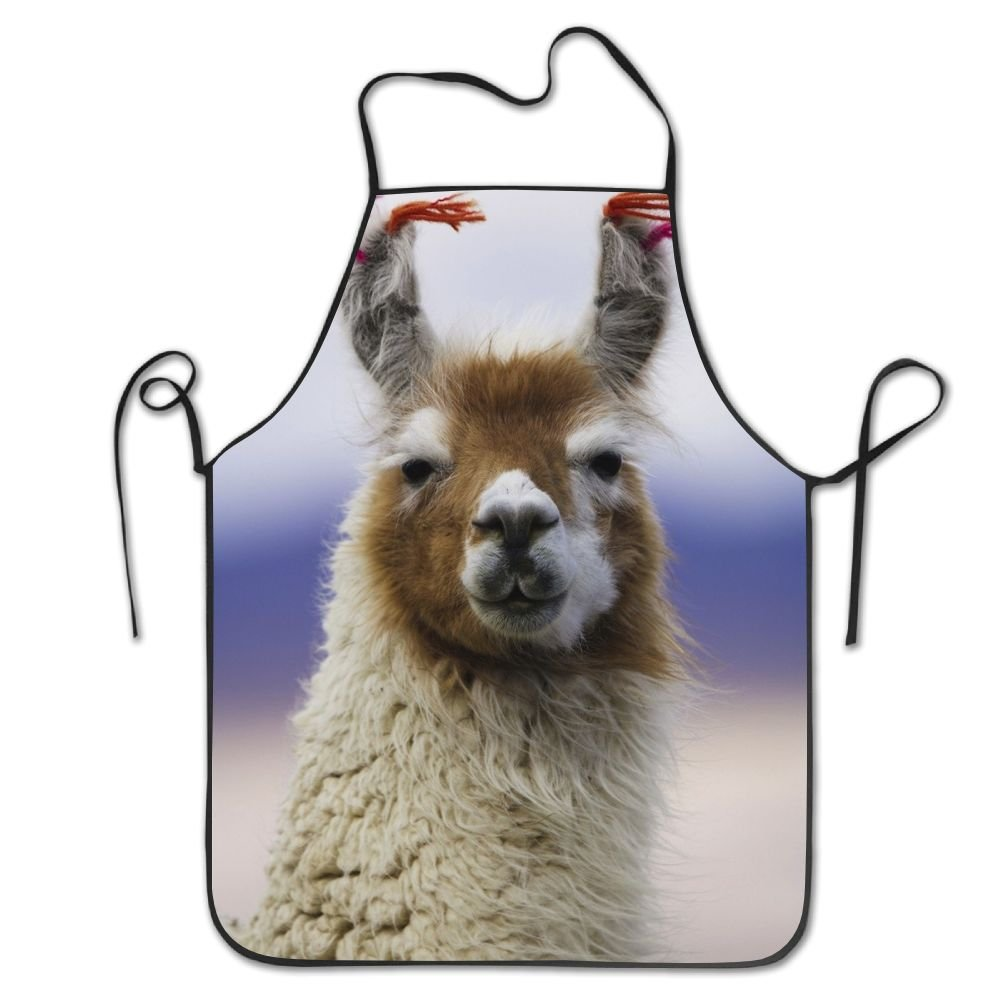 Delantal de cocina Llamas y cortes de pelo para mujeres y ...