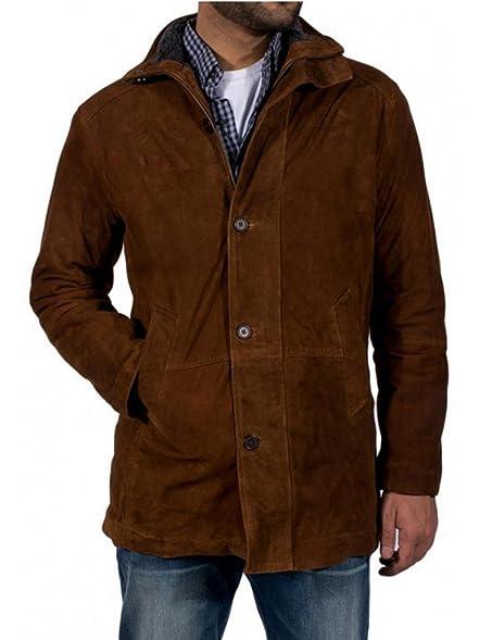 LONGMIRE Sheriff Walt Robert Taylor SUEDE Leather Coat, XXS to 3XL ...