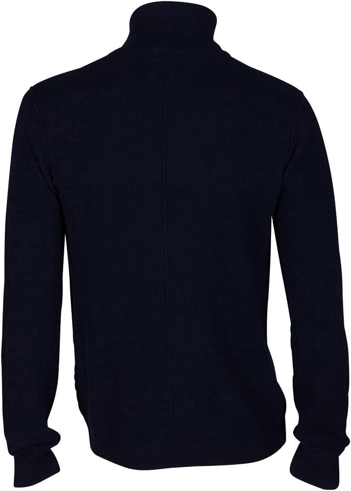 Cilios Viaje repentinamente  American Vintage Hombre Jersey Jersey para mujer – Lana – Azul azul marino  L: Amazon.es: Ropa y accesorios