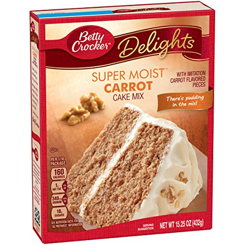 General Mills Betty Crocker Carrot Cake 15.25 oz