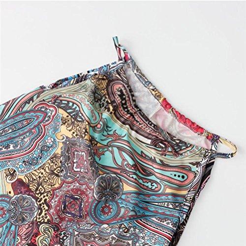 Kleid Transer® Damen Partei Kleider Polyester Sleeveless OAusschnitt ...