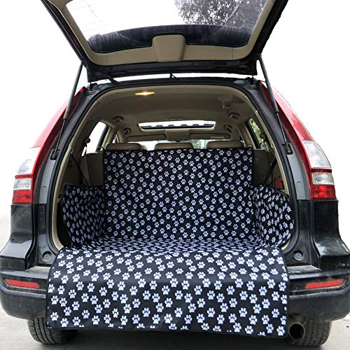 Pet Dog Trunk Cargo Liner - Oxford Car SUV Seat Cover - Waterproof Floor Mat for Dogs Cats - Extra Large