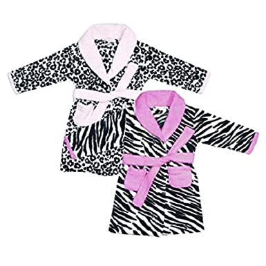 9022b679c5fb Women S Croft Barrow Plush Robe 32 Liked On Polyvore Featuring Intimates.  Satin Animal Print Dressing Gown Lohe
