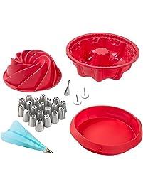 Amazon Com Round Cake Pans Home Amp Kitchen