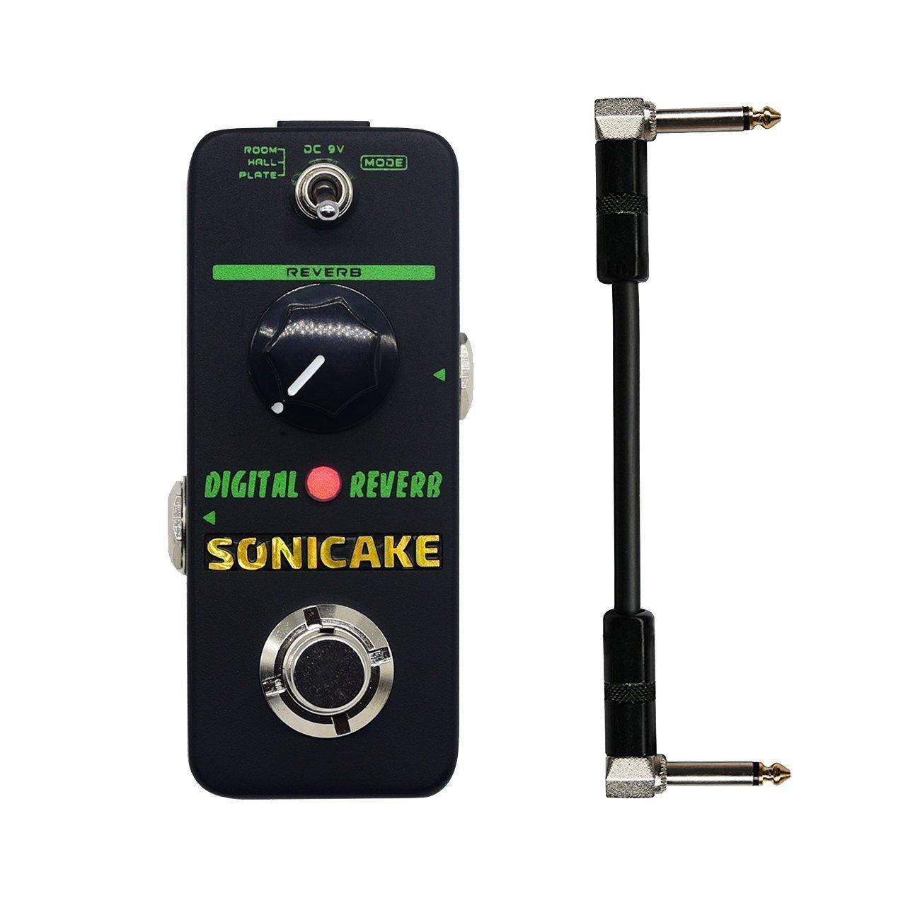 SONICAKE Digital Reverb Mini Guitar Effects Pedal True Bypass 4334186533