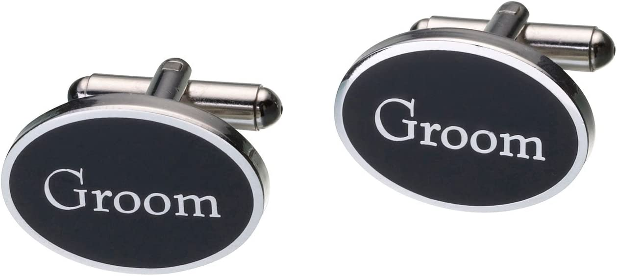 Lillian Rose Groom Cufflinks Wedding Party Accessories Gift