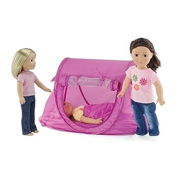 Image Unavailable  sc 1 st  Amazon.com & Amazon.com: 14 - 18-inch Doll Accessories | No Poles to Assemble ...