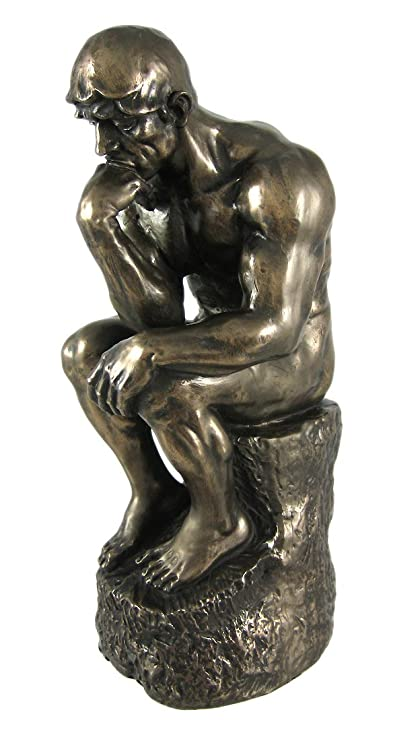 Thinker >> Amazon Com Bombayjewel Rodin The Thinker Statue Fine Art Sculpture