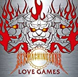 Sex Machineguns - Love Games [Japan CD] NQKS-1006