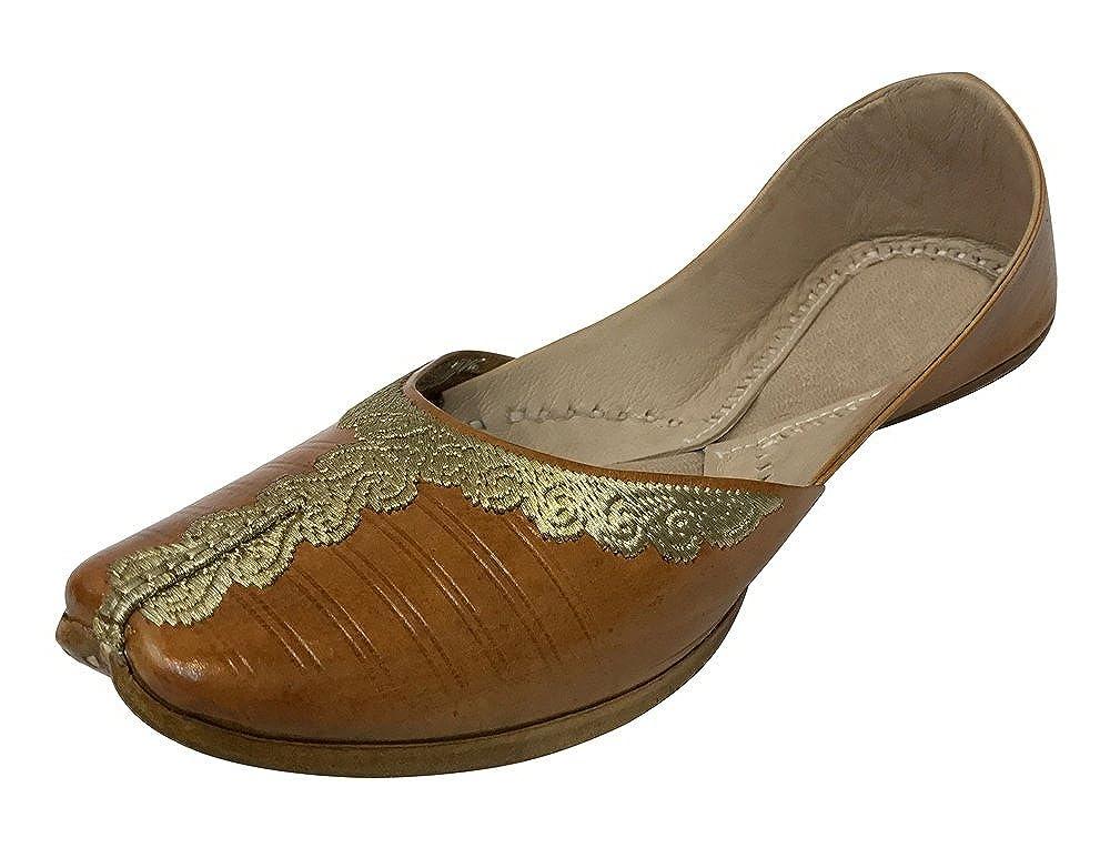 Step n Style Women Loafers Flat Slipon Phulkari Jutti Khussa Shoes Tribal Boho Shoes DD479