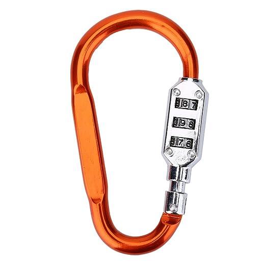 Amtech S4321 combinaison mousqueton en alliage de zinc lock pour bagages portable sacs