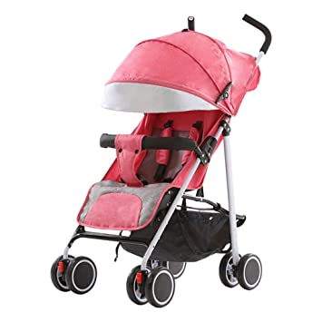 HAOJUN Carrito de bebé Lite Paraguas Plegable Ligero Carro Ultra Ligero Portátil Fácil de Transportar (Color : 2#): Amazon.es: Hogar