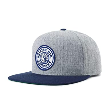 783b5e5a3419b Image Unavailable. Image not available for. Color  Brixton Mens Rival  Snapback Hat ...