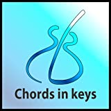 Music Theory - Chords in Keys: Music theory app