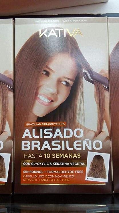 Kativa Keratina y Argán - Kit de Alisado Brasileño - 150 ml ...
